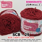 SCB29 I SOFT COTTON BIG 29 MAROON