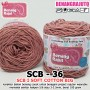 SCB36 I SOFT COTTON BIG 36 DUSTY PINK