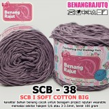 SCB38 I SOFT COTTON BIG 38 UNGU