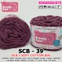 SCB39 I SOFT COTTON BIG 39 UNGU KEMERAHAN