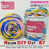 NILON SEMBUR D27 DIY 87 CROCHET YARN