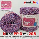 NILON PP D27 208 ABSTRACT BENANG RAJUT Q