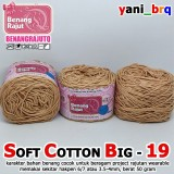 SCB 19 BENANG RAJUT Q SOFT COTTON BIG 19